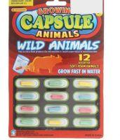 """Растущие животные в капсуле """"Сафари"""", набор 12 шт купить недорого"""