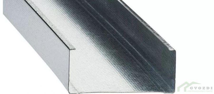 Профиль  для гипсокартона, CW 100х50х0.6, длина 3 м, (ПС профиль)