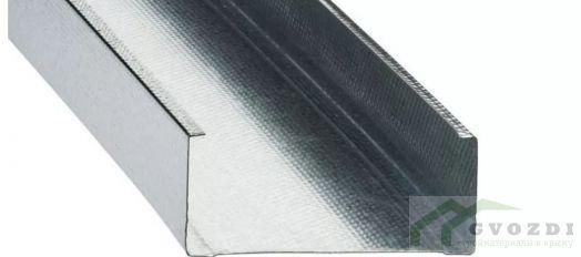 Профиль  для гипсокартона, CW 100х50х0.44, длина 3 м, (ПС профиль)