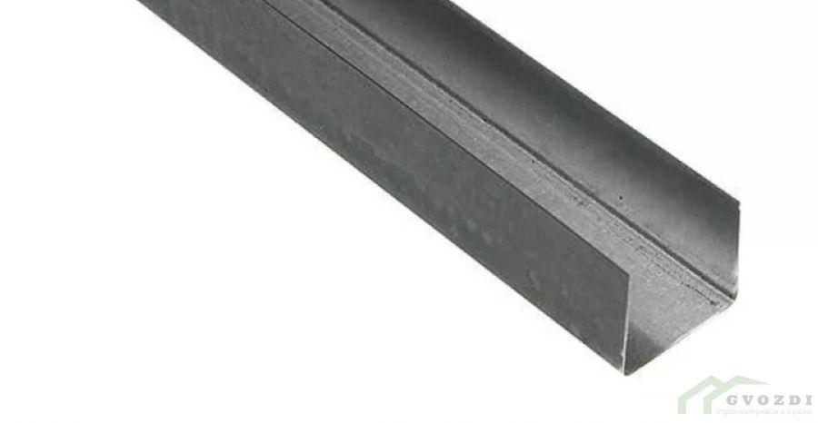 Профиль  для гипсокартона, UW 50х40х0.6, длина 3 м, (ПН профиль)