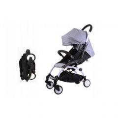"""Детская прогулочная коляска трансформер Yoya Babytime Серая """"Йойа беби тайм"""" купить в интернет магазине"""