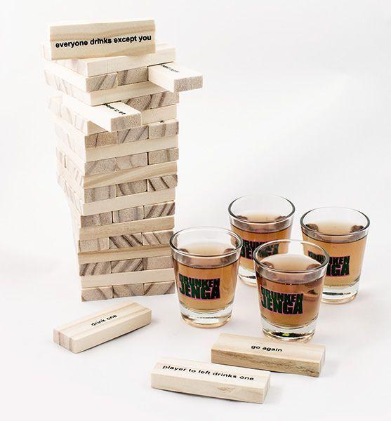 Алкогольная игра - Пьяная башня