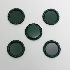 `Крышка, металл, Д.вн. 25 мм, Д.наруж. 31 мм, цвет №А12 темно-зеленый