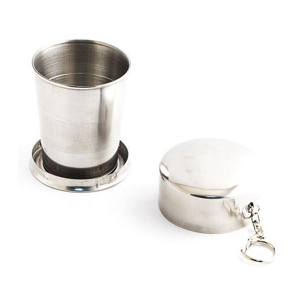Стаканчик складной металлический 125 ml