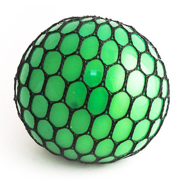 Игрушка-мялка Шарик большой зеленый