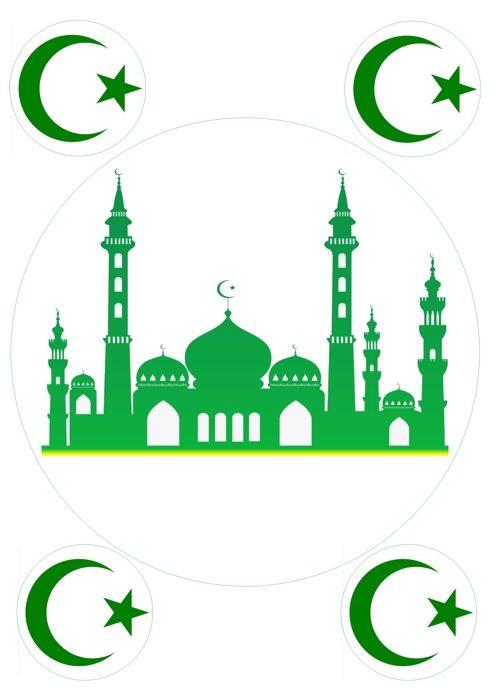 Вафельная картинка Рамадан (25)