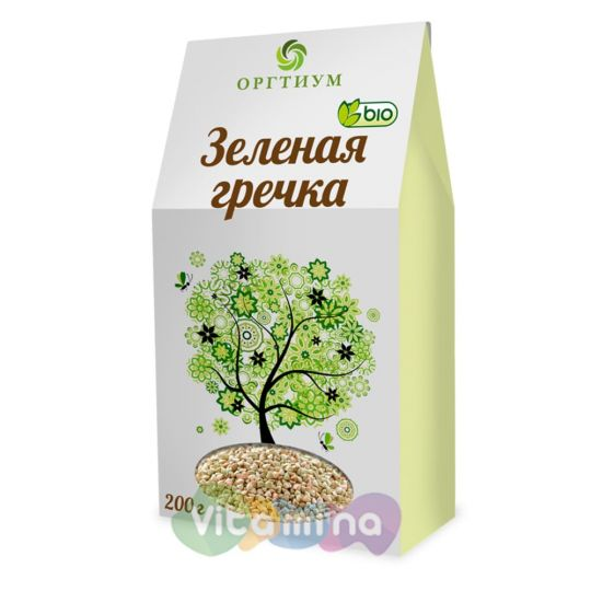 Зеленая гречка, БИО, 200 г