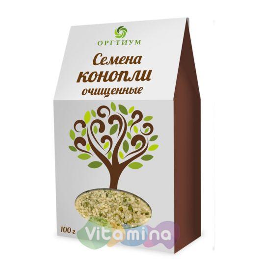 Очищенные семена конопли(ядра),100 гр.