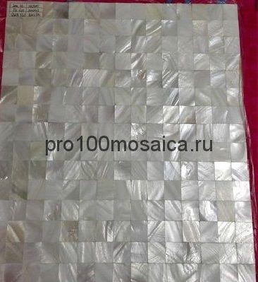 P41 Мозаика из перламутра серия PERLMUTTER, 300*300*2 мм  (Happy Mosaic)