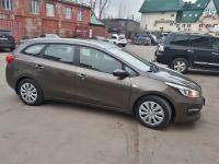 Прокат автомобиля Киа Сид 2018 коричневого цвета