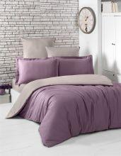 """Комплект постельного белья  """"KARNA"""" Сатин LOFT 1.5-спальный   Арт.2983-7"""