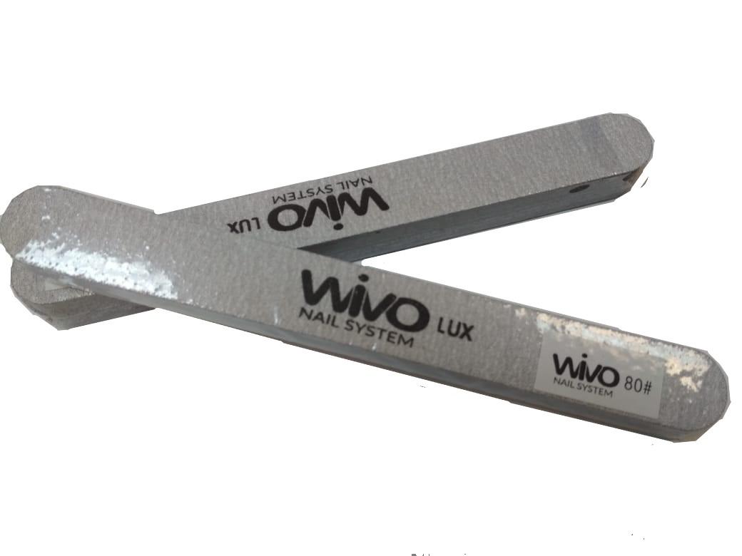 Сменные файлы-пилки WIVO на липкой основе 080 грит  (Зебра, Япония , 180х20мм., 25 шт.)