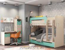 Детская комната Юниор-1 МДФ
