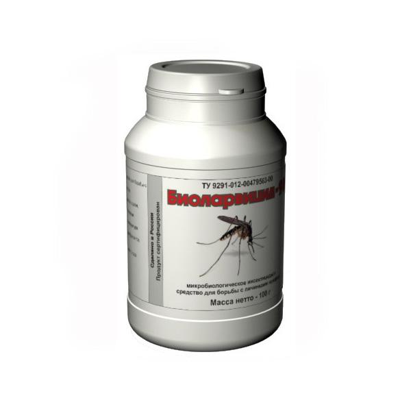 Уничтожитель личинок комаров биологический «Биоларвицид-100»
