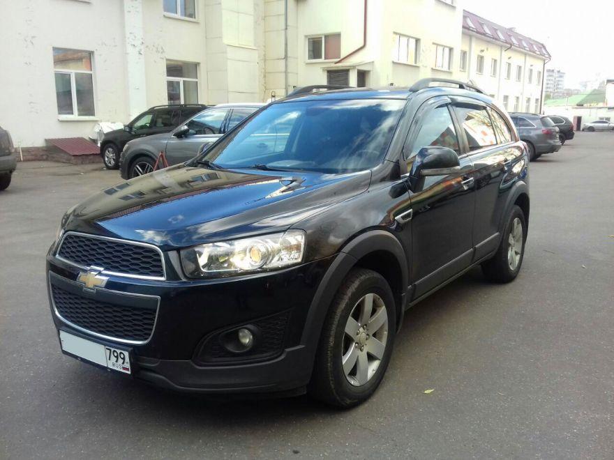 Chevrolet Captiva 2014 г. Автомат (Черный)