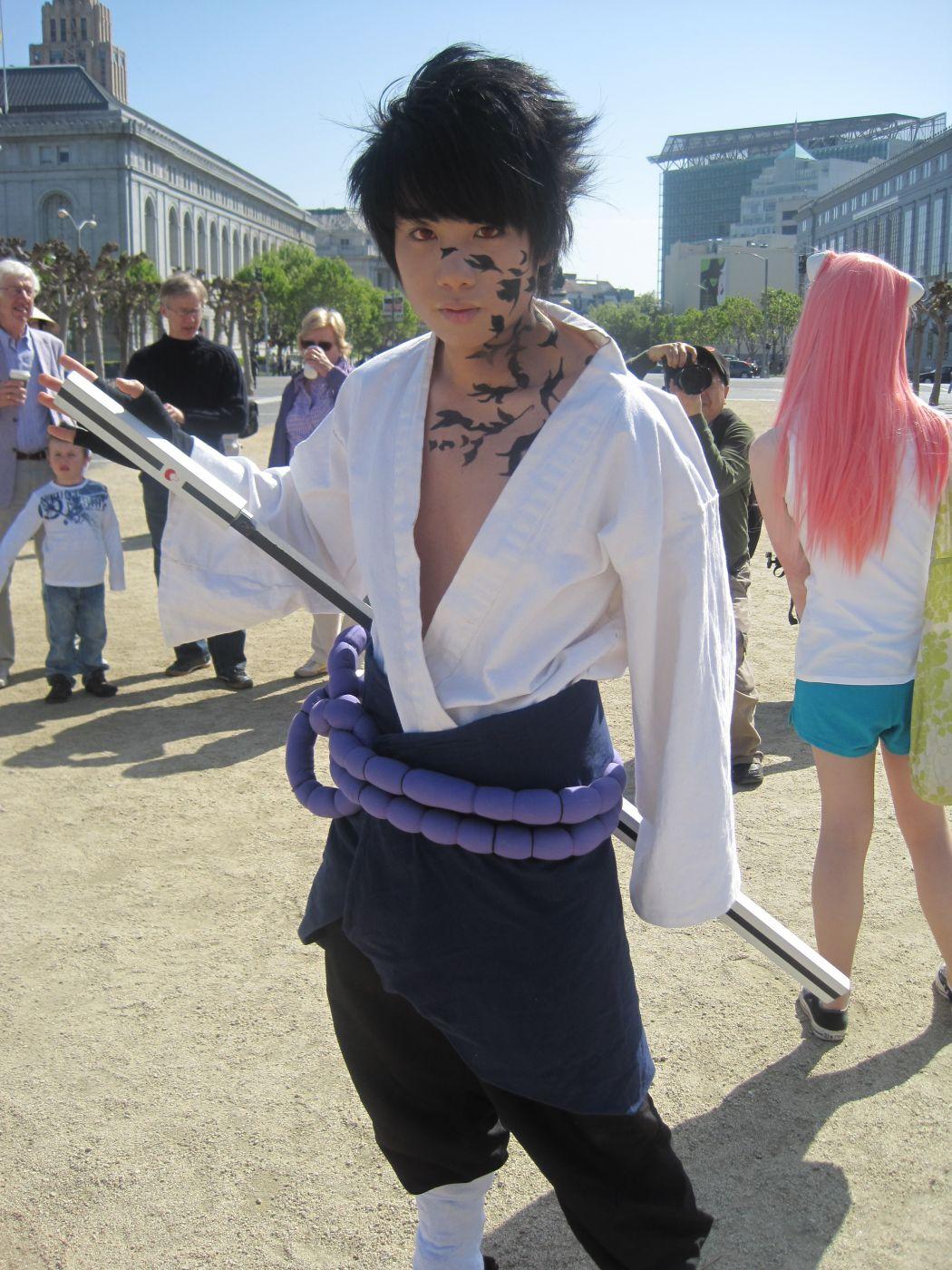 Костюм Учихи Саске/Sasuke Uchiha