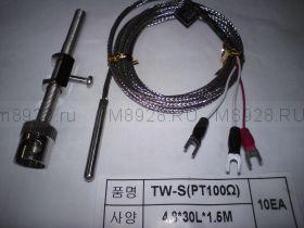 Термосопротивление TW-N(Pt100) 4.8*30*1.5m
