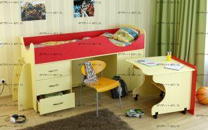 Кровать-чердак Карлсон МИНИ-4 (арт. 15.7.004)
