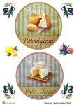 Декупажные карты Set cheese 4