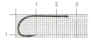 Крючок Lucky John H559(упаковка)