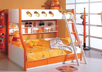 Двухъярусная детская кровать Milli Willi, 336