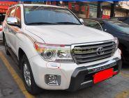Хромированные накладки на омыватели передней оптики для Toyota Land Cruiser 200 2012