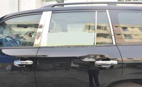 Накладки на стойки дверей для Toyota Land Cruiser 200
