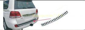 Накладка на задний бампер (Тип 4) для Toyota Land Cruiser 200