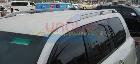 """Рейлинги в стиле """"Lexus"""" для Toyota Land Cruiser 200"""