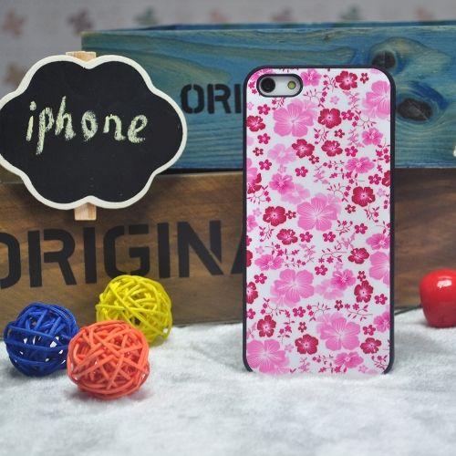 "Чехол для Iphone 4, 4S ""Pink Flowers"""