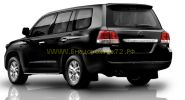 Защита штатных порогов 25 мм (ZSE1NJ2025P) для Toyota Land Cruiser 200 2012 -