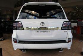 Задняя  альтернативная оптика диодная (Тип Lexus Блэк) для Toyota Land Cruiser 200