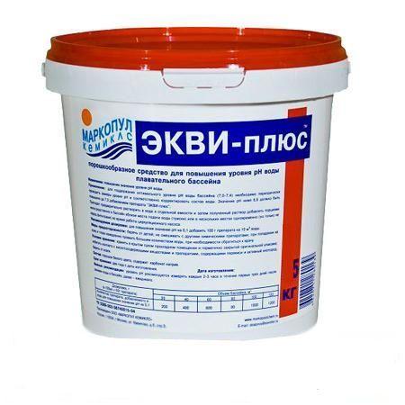 Экви-плюс 0,5 кг (ср-во для повышения ph воды)