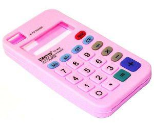 Калькулятор (розовый)