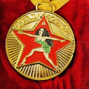 """Медаль с удостоверением """"Звезда восторга"""" (бол.)"""