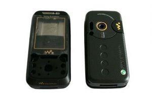 Корпус Sony Ericsson W850 (black)
