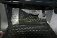 """Ковры в салон полиуретановые с бортиком """"Черные"""" для Toyota Rav 4 2013 -"""