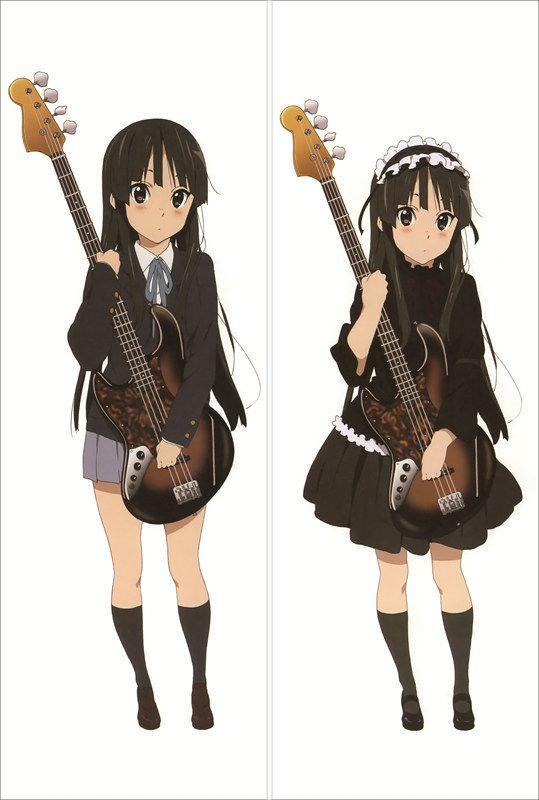 Акияма Мио/Akiyama Mio дакимакура