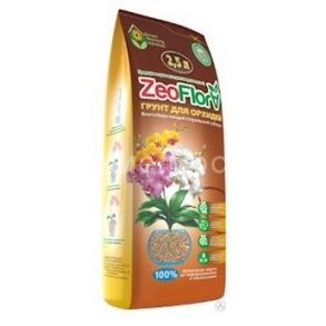 "Влагосберегающий грунт ""Цеофлора"" для орхидей 2,5 л"