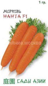 Морковь Нанта F1