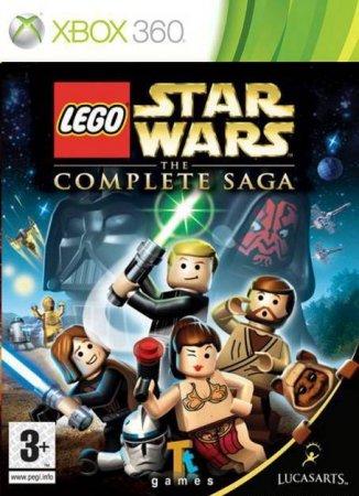 Игра Lego Star Wars: The Complete Saga (Xbox 360)