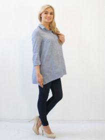 Рубашка для беременных У-41055 ПС