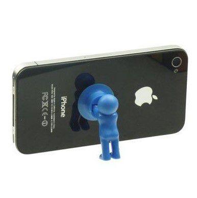 Настольный держатель мобильного телефона 3D-MANstand, цвет синий