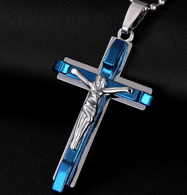 Распятие 01-ZWY-1011-blue