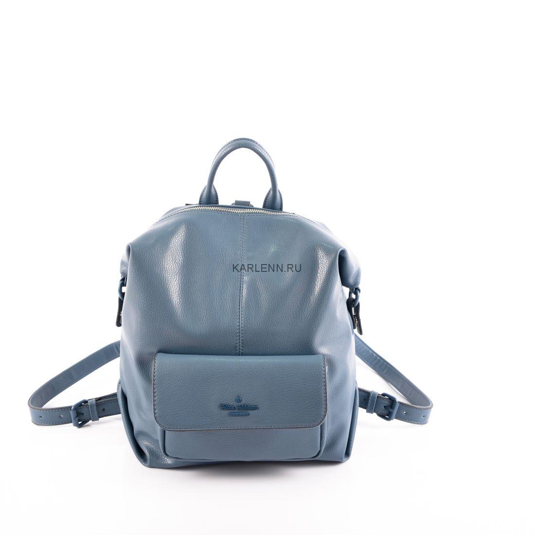 Рюкзак-сумка женский Velina Fabbiano (воздушно-синий)