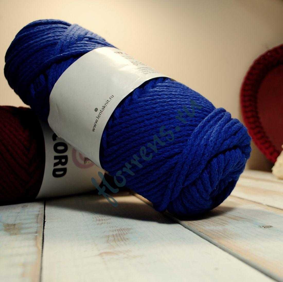 Шнур для вязания / синий
