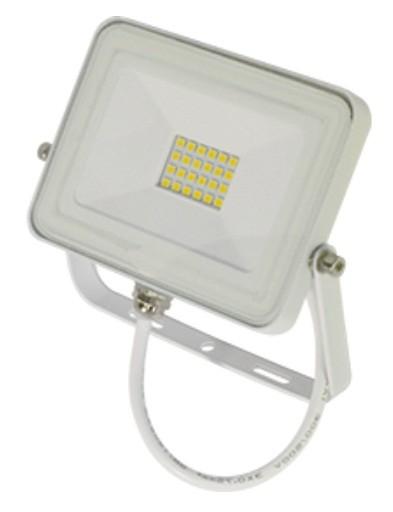 Ecola прожектор св/д 10W 2800 2K 100x80x26 тонкий белый IP65 JPWW10ELB