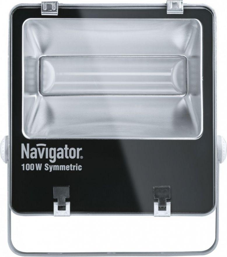 Navigator прожектор св/д 100W(7200lm) 5000K 4K IP65 296x258x95 сер. NFL-SM-100-5K-GR-IP65-LED 94749