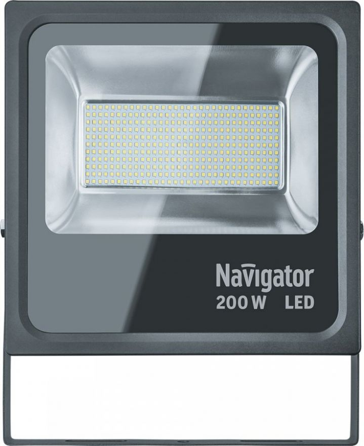 Navigator прожектор св/д 200W 20000lm) 5000K 375х425х95 NFL-M-200-5K-BL-IP65-LED 14014