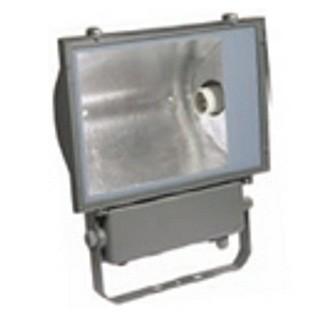 Прожектор металлогалогенный ГО03-400-02 400W цоколь E40 серый ассиметричный  IP65 IEK